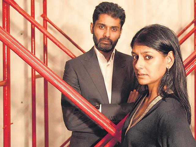 Nandita-Das-and-Subodh-Maskara-in-a-still-from-their-play
