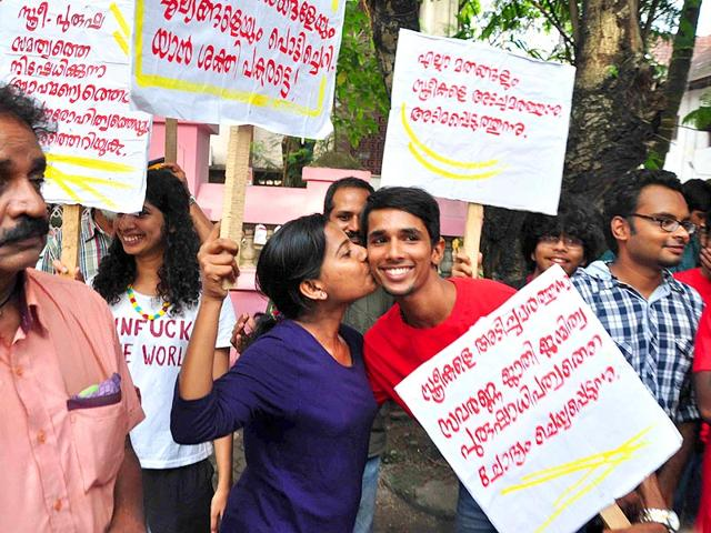 A-girl-kisses-a-boy-as-a-support-to-Kiss-of-Love-protest-rally-in-Kochi-on-Sunday-PTI-Photo