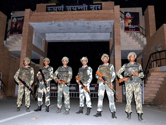 Wagah blast,BSF,trade halt