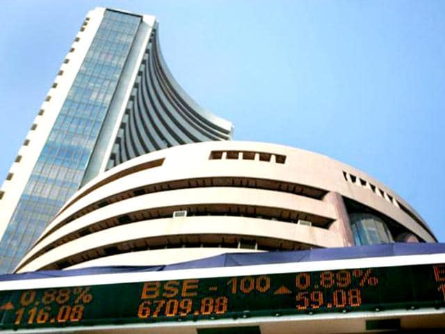 After-two-days-of-the-rally-Sensex-slumped-442-points-in-late-morning-deals-following-weakness-in-global-stocks-amid-profit-booking-by-wary-operators-ahead-of-the-IIP-and-CPI-data-to-be-released-later-in-the-day