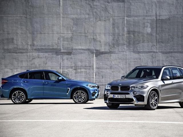 new BMW X6M and X5M