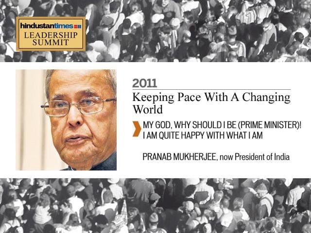 Pranab Mukherjee,President