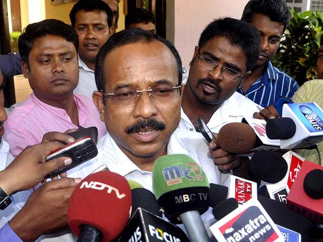 BJD-MP-from-Mayurbhanj-Ramachandra-Hansda-was-arrested-by-the-CBI-for-his-alleged-involvement-in-a-chit-fund-scam-in-Odisha-Arabinda-Mahapatra-HT-Photo