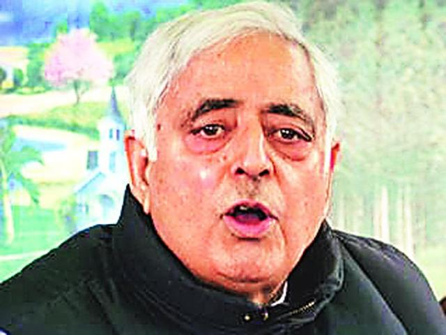 'Suspicious' Mufti Sayeed changes security