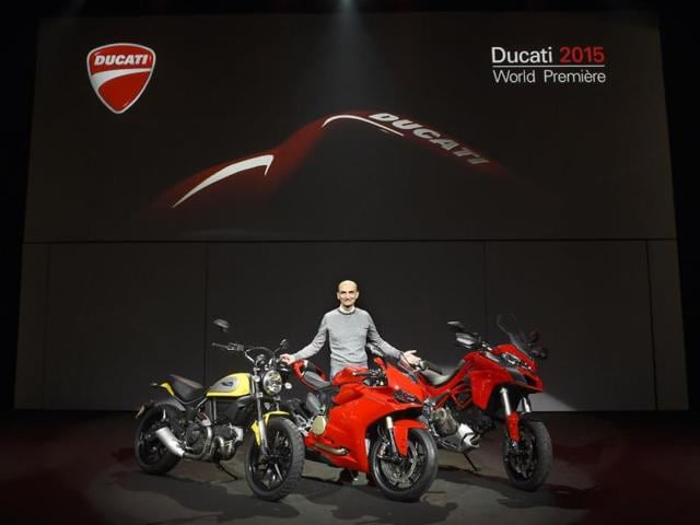 In-a-world-premiere-Ducati-has-unveiled-the-1299-Panigale-and-Multistrada-1200-in-Milan-Photo-AFP