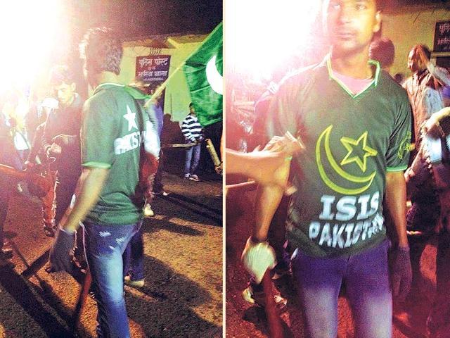 Dhanbad police,ISIS Pakistan T shirts,Muharram procession