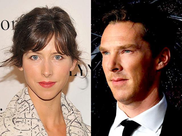 Benedict-Cumberbatch-and-fiance-Sophie-Hunter