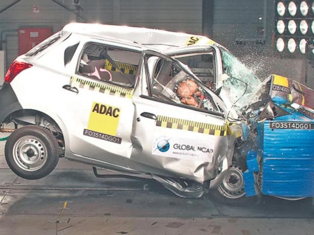 Datsun-Go-during-the-frontal-crash-test-conducted-by-NCAP-Photo-AFP