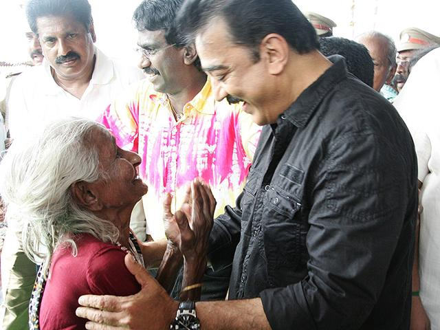 Kamal Haasan,Narendra Modi,lake cleaning in tamil nadu