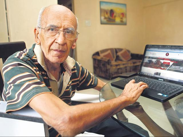 Vinod-Kumar-Behal-78-log-ons-to-the-Parkinson-s-Disease-and-Movement-Disorder-Society-s-web-portal-regularly-to-post-queries-to-experts-and-look-for-the-latest-research-into-in-his-condition-HT-Photo
