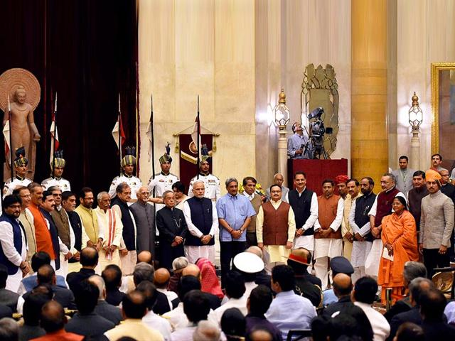 Swearing in,cabinet reshuffle