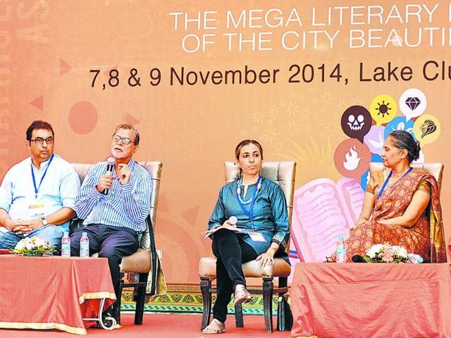 Chandigarh lit festival,Lake club,Reinventing heritage