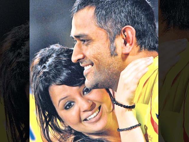Sakshi-and-MS-Dhoni