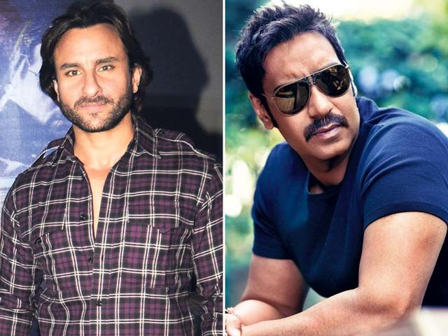 Ajay Devgn,Saif Ali Khan,The Devotion Of Suspect X