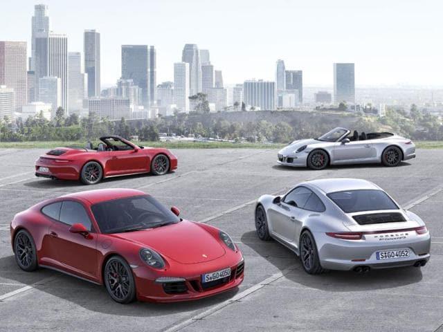 Porsche new 911 Carrera GTS
