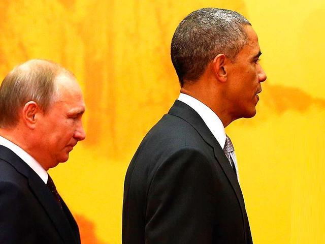 Barack Obama,Vladimir Putin,US