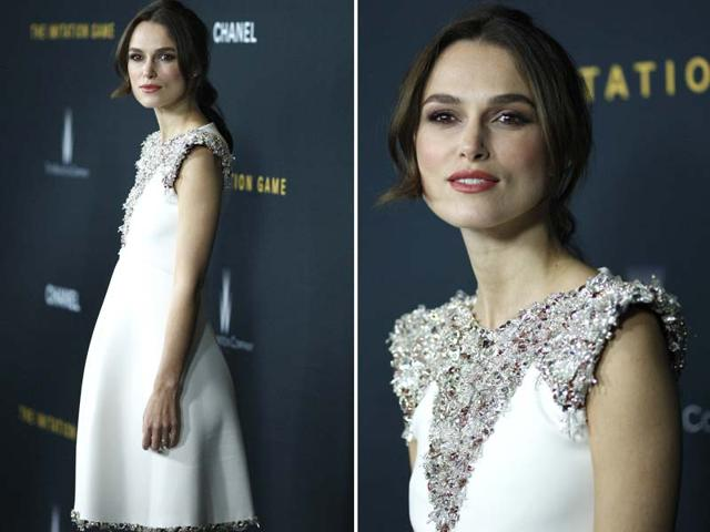 The-film-s-leading-lady-Kiera-Knightley-poses-for-the-shutterbugs-Agencies