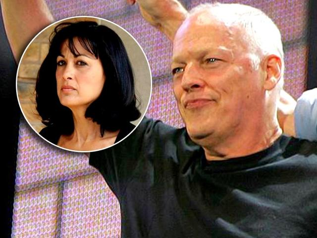 Pink-Floyd-s-David-Gilmour-and-wife-Polly-Samson-inset-Agency