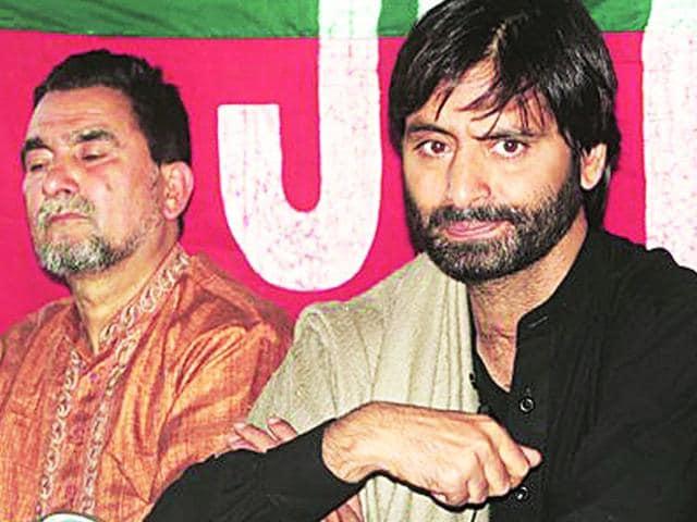 Jammu and Kashmir Liberation Front (JKLF) chief Yasin Malik,Pakistan high commission,Pakistani NSA Sartaj Aziz