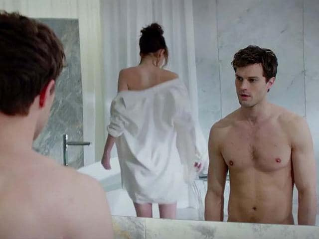 The infamous sex scene which was left out of Fifty Shades of Grey