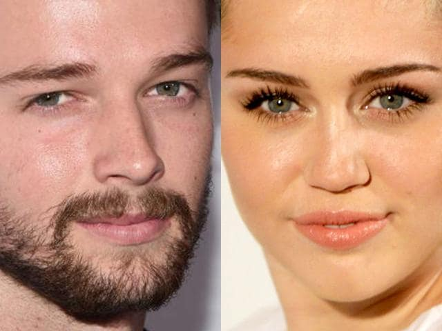 Singer-Miley-Cyrus-and-her-new-boyfriend-Patrick-Schwarzenegger-AFP