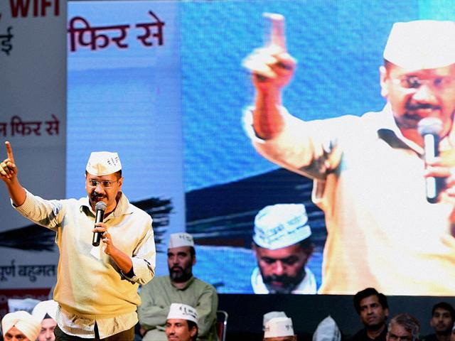 AAP-convener-Arvind-Kejriwal-addresses-supporters-at-the-launch-of-party-s-Delhi-Dialogue-in-New-Delhi-PTI-Photo