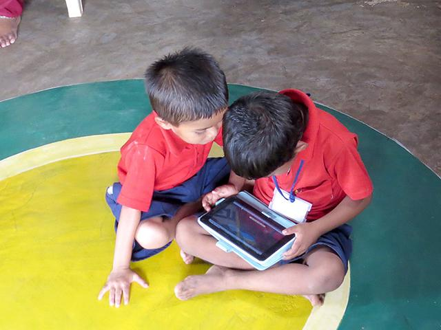 The-attendance-of-children-in-these-anganwadis-has-gone-up-from-around-60-to-over-95-The-development-record-of-the-children-is-also-maintained-in-the-tablets-HT-photo
