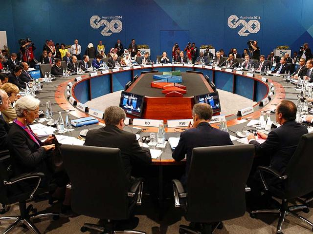 Leaders-meet-at-the-first-plenary-session-at-the-G20-summit-in-Brisbane-Australia-Saturday-AP-Photo