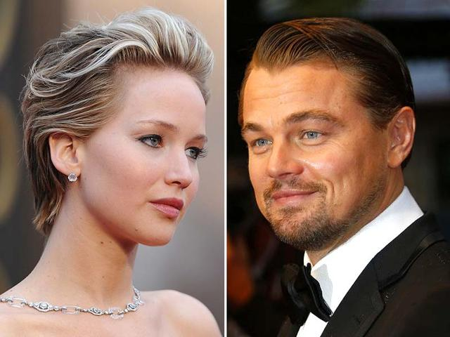 Jennifer-Lawrence-and-Leonardo-Di-Caprio-Agencies