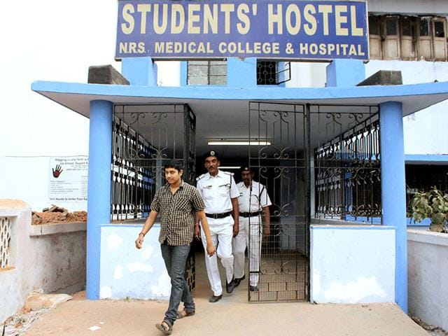 NRS-Medical-College-and-hospital-in-Kolkata-where-a-28-year-old-man-died-after-he-was-allegedly-bobbitised-and-beaten-by-students-and-junior-doctors-Ramkrishna-Samanta-HT-Photo