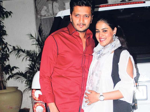 Riteish Deshmukh,Genelia D'Souza,baby name
