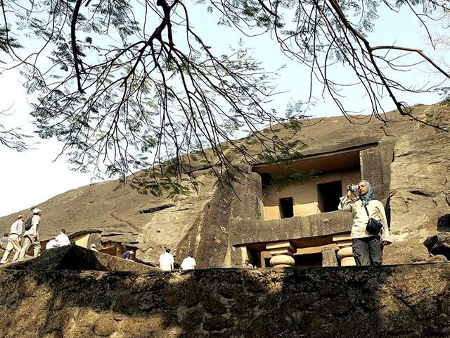 Maharashtra,Buddhist caves,Avalokiteshvara