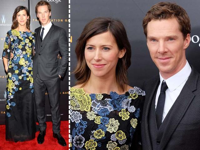 Brace-yourselves-ladies-heartbreak-coming-through-Benedict-Cumberbatch-was-spotted-with-his-fiance-Sophie-Hunter-for-the-first-time-ever-since-their-engagement-announcement-at-the-screening-of-his-upcoming-movie-The-Imitation-Game-Agencies