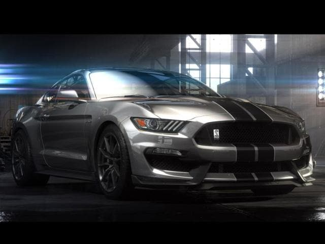 new Shelby GT350 Mustang,Ford Motor,Mustang