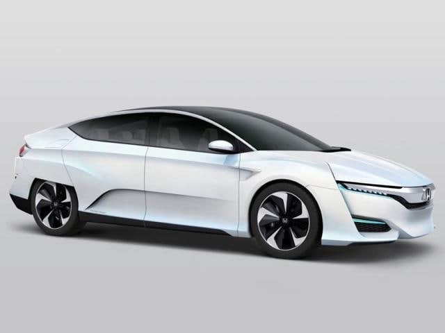 Honda FCV Concept,FCV Concept,Fuel Cell Vehicle