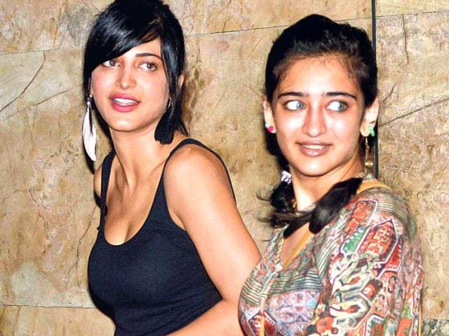 Sibling rivalry: Shruti,Akshara Haasan set for box office clash