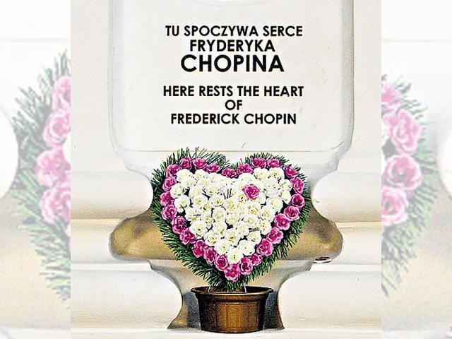 Frederic Chopin,Frederic Chopin heart