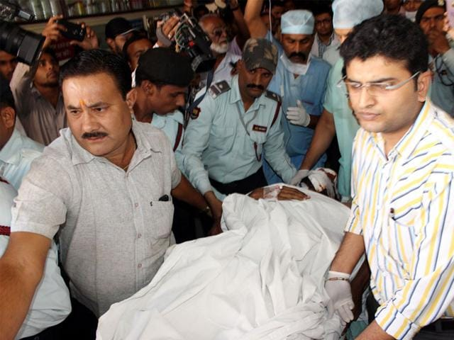 Commercial-pilot-Arshad-Qureshi-28-was-admitted-to-ICU-ward-of-Aurobindo-Hospital-where-he-succumbed-to-his-injuries-on-Wednesday-evening-Amit-K-Jaiswal-HT-photo