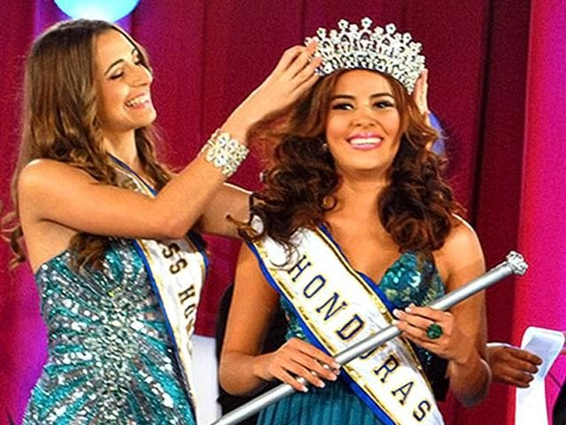 Undated-picture-taken-in-San-Pedro-Sula-of-Maria-Jose-Alvarado-R-Miss-Honduras-World-whose-body-and-her-sister-s-were-found-on-November-19-2014-one-week-after-both-siblings-had-been-abducted-AFP-Photo