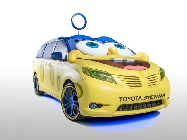 The-SpongeBob-Movie-2015-Toyota-Sienna-Photo-AFP