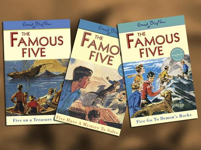 Enid-Blyton-1897-1968-wrote-21-books-in-The-Famous-Five-series