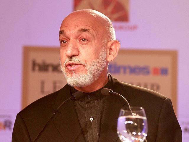 HT Leadership Summit,Hamid Karzai