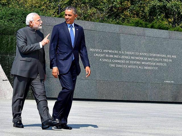 President-Barack-Obama-and-Prime-Minister-Narendra-Modi-at-the-Martin-Luther-King-Jr-Memorial-in-Washington-PTI-Photo