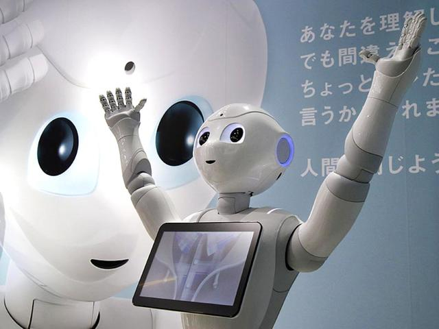 Humanoid-robot-Pepper-displayed-in-Tokyo-It-is-the-world-s-first-personal-robot-that-can-read-emotions-AP