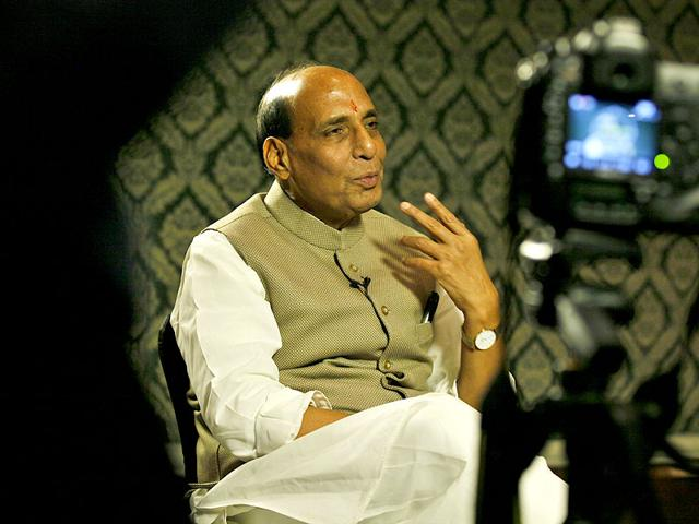 Home-minister-of-India-Rajnath-Singh-during-an-interview-at-Hindustan-Times-Leadership-Summit-in-New-Delhi-Raj-K-Raj-HT-Photo