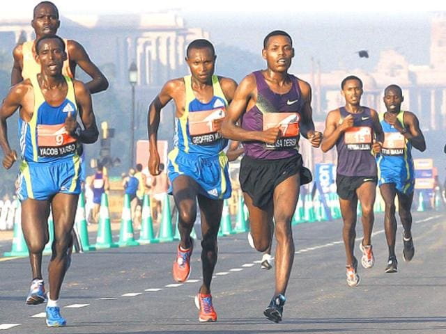 Marathon,Indian Runners,Kenya