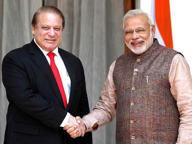 India-is-open-to-dialogue-with-Pakistan-on-all-outstanding-issues-but-in-an-environment-free-of-violence-Prime-Minister-Narendra-Modi-told-HT-on-Wednesday-File-Photo