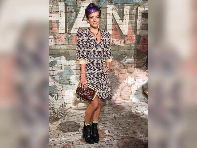lily allen,lily allen band aid 30s ebola charity,lily allen ebola charity