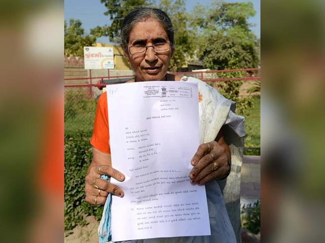 Security cover: Jashodaben continues her RTI fight