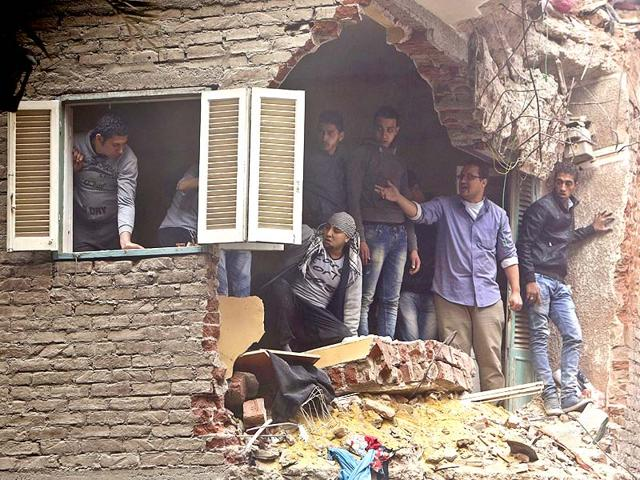 Egypt,building collapse